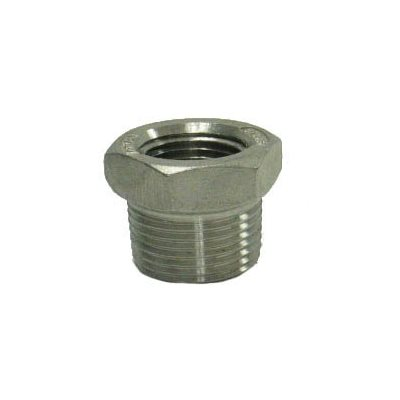 "1.25"" X 1 / 2"" SS THREADED BUSHING"
