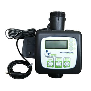 """1"""" INLINE METER w / MTR CONT & 28"""" w / AUX CORD"""