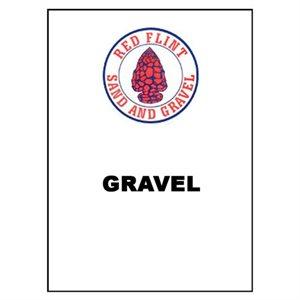 1 / 4 X 1 / 8 GRAVEL 100# BAG