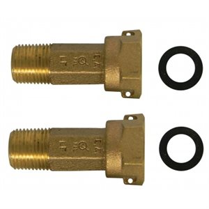 "1"" BRASS UNION TAILPIECE - NO-LEAD"