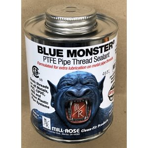 8 OZ BLUE MONSTER PASTE (1 / 2 PINT)
