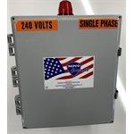 DUPLEX 230V 3 PHASE PANEL w / ALARM